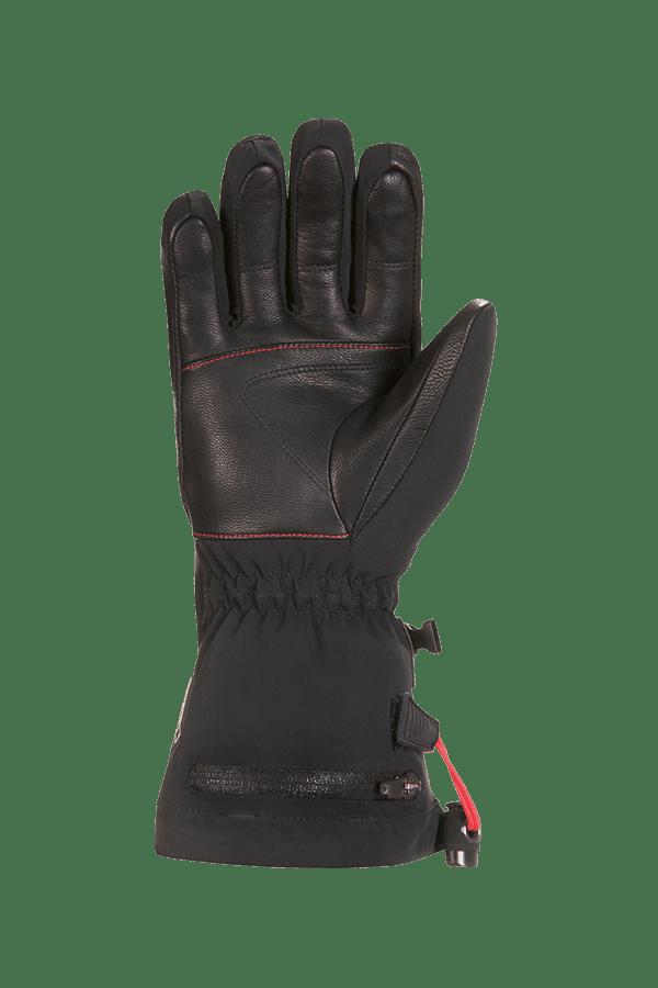 Winter- und Ski-Handschuh, Glove, beheizbar, schwarz