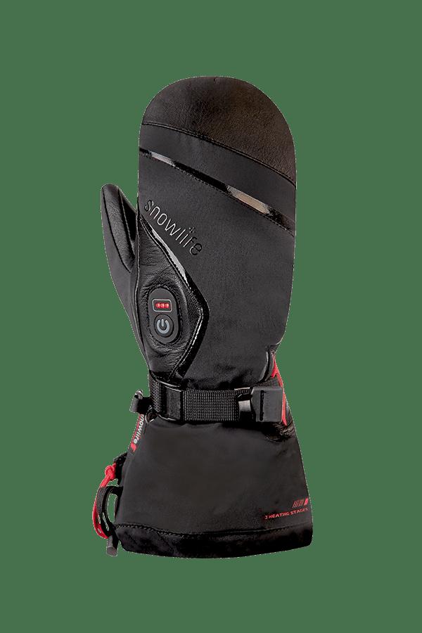 Winter- und Ski-Handschuh, Glove, Fäustlinge, beheizbar, schwarz