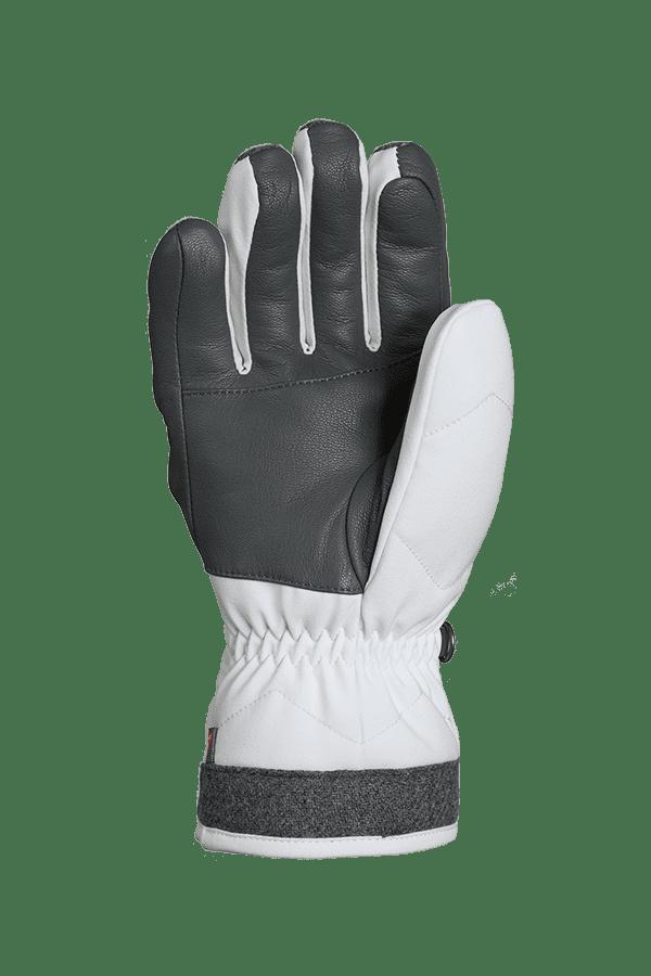 Winter- und Ski-Handschuh, Glove, Primaloft, weiss