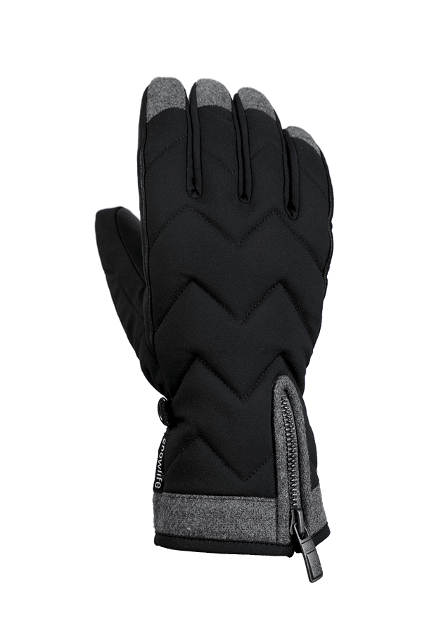 Winter- und Ski-Handschuh, Glove, Primaloft, schwarz