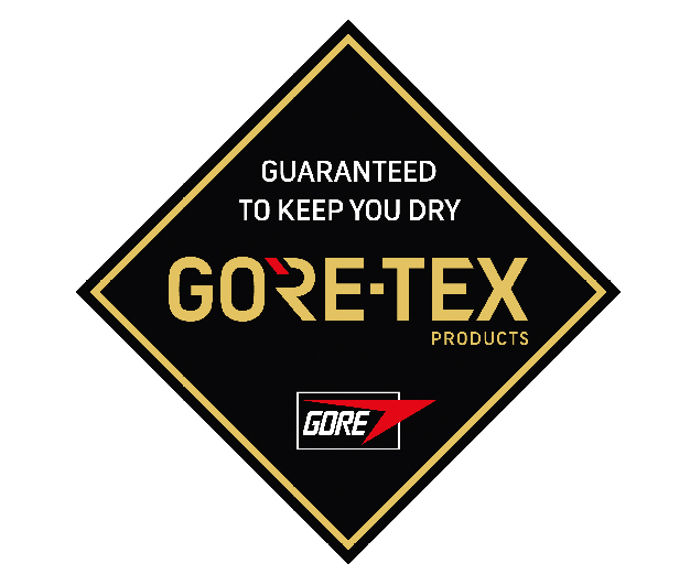 Gore-Tex Logo, Guaranteed to keep you dry