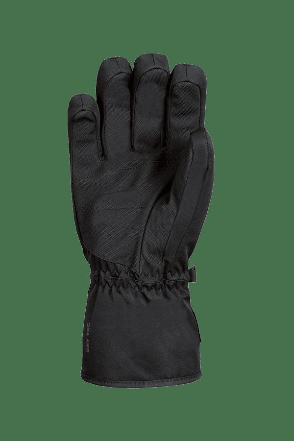 Apex DT Glove, schwarzer Skihandschuh, Ansicht Handfläche des Handschuhs