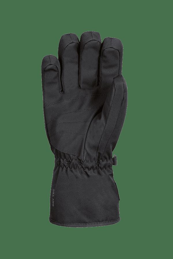 Apex DT Glove, schwarz-grauer Ski- und Winterhandschuh für aktive Skifahrer, Ansicht Handinnenseite