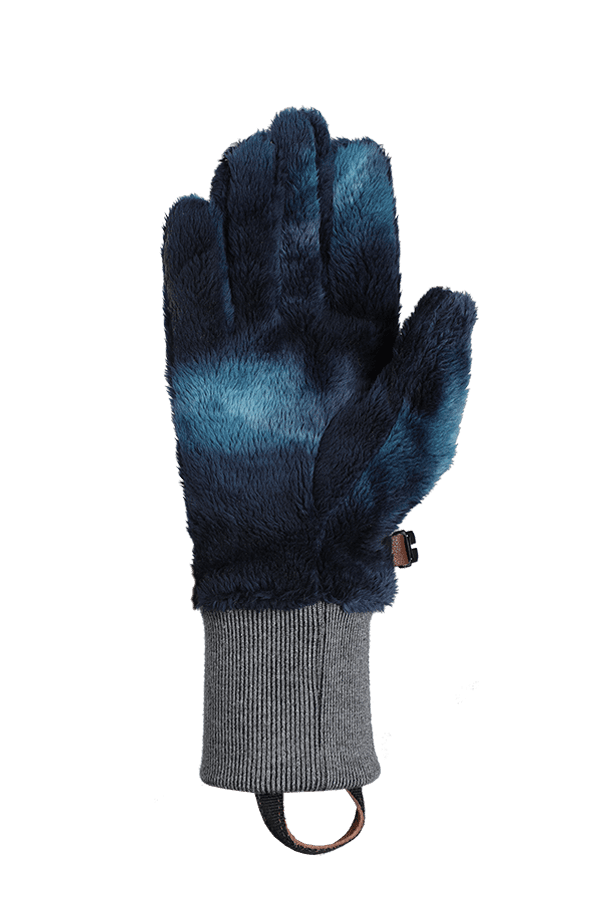 Winter- und City-Handschuh aus High Pile Fleece, Glove, dunkel blau