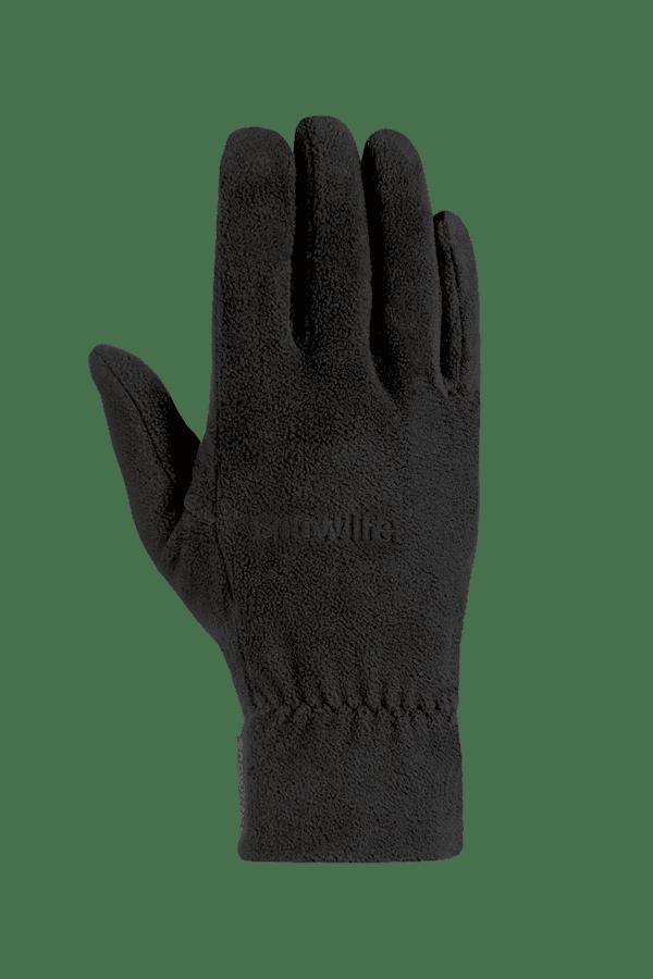 Winter- und City-Handschuh aus Fleece, Glove, schwarz