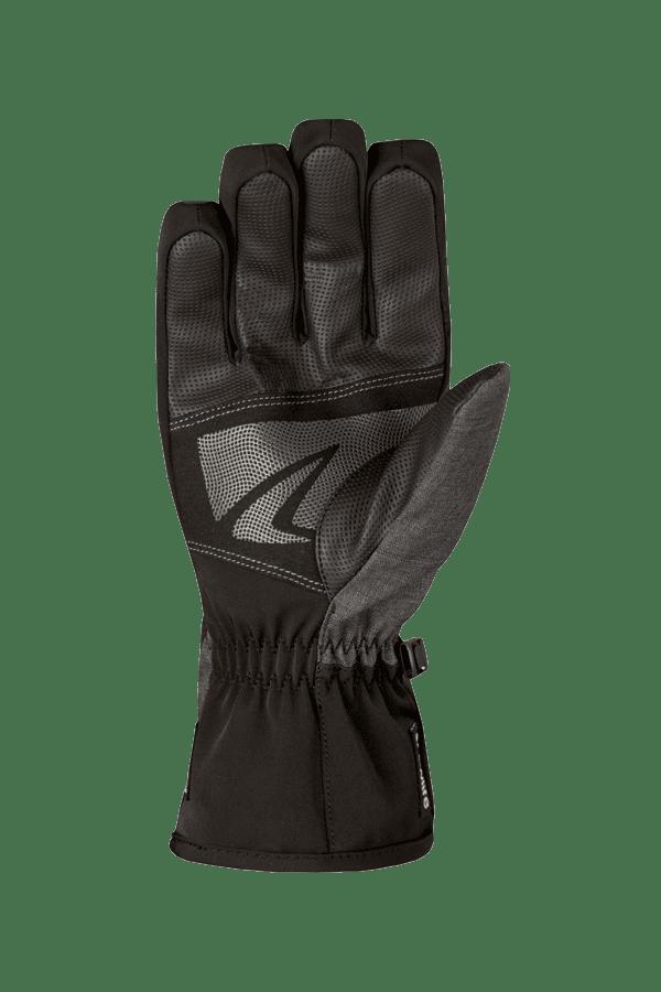 Winter- und Ski-Handschuh, Glove, schwarz, grau