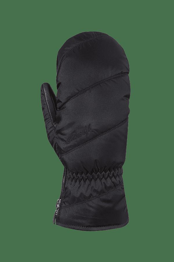 Winter- und Ski-Handschuh, Fäustlinge, Glove, extra warm, extra warm, schwarz