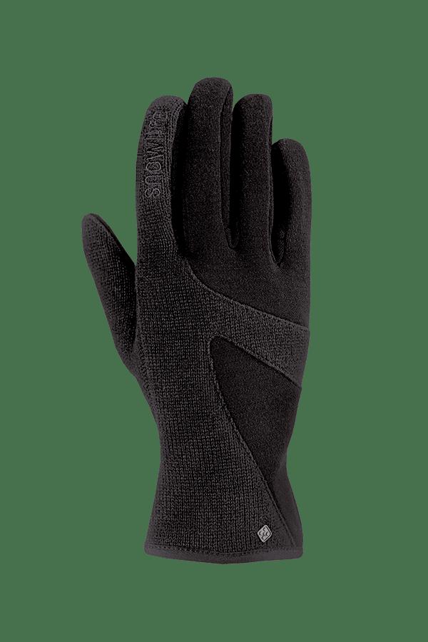 Winter-Handschuhe, Glove, Merino-Wolle, schwarz