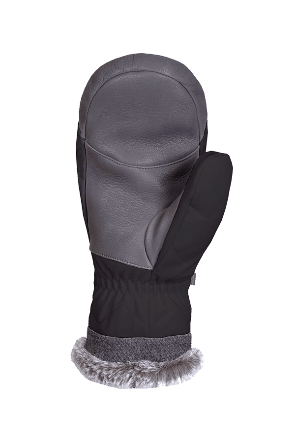 Winter- und Ski-Handschuh, Fäustlinge, Glove, Primaloft, schwarz