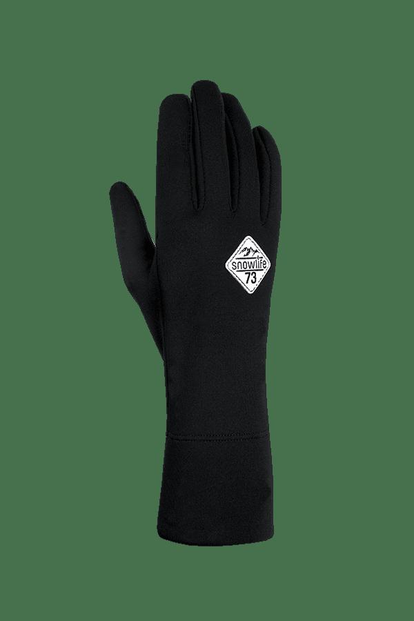 Winter- und Ski-Handschuh, Innenhandschuh, Glove, Primaloft, grau, weiss