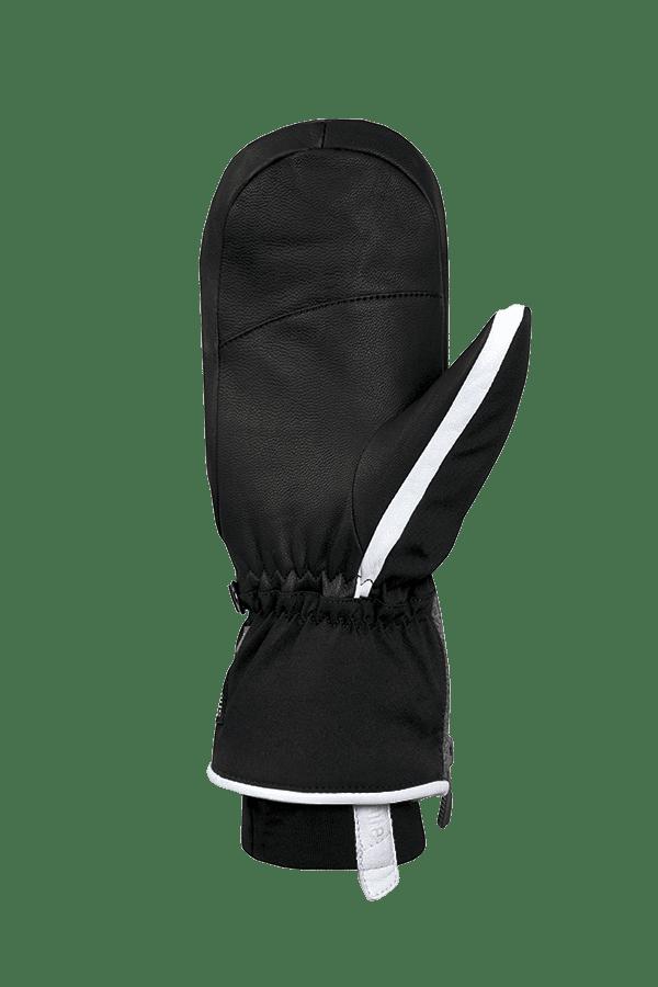 Winter- und Ski-Handschuh, Fäustlinge, Glove, Primaloft, grau, weiss