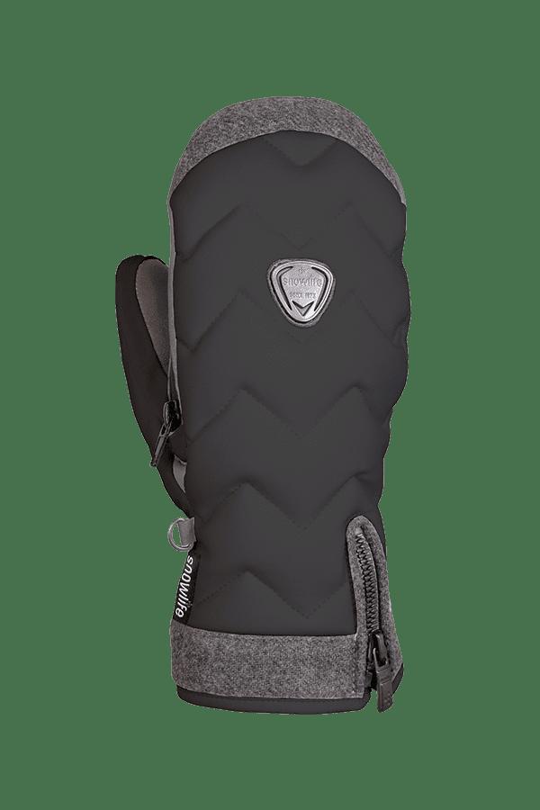 Winter- und Ski-Handschuh, Fäustlinge, Glove, beheizbar, Primaloft, schwarz