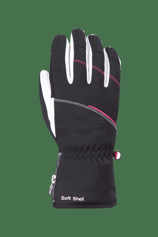 Winter- und Ski-Handschuh, Glove, schwarz, pink, Frauen