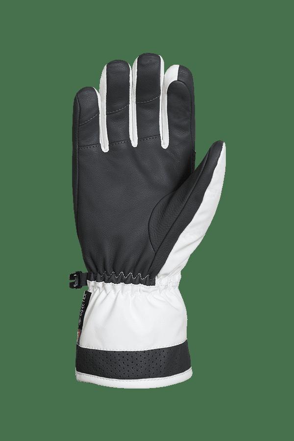 Winter- und Ski-Handschuh, Glove, Lavalan, weiss, graphit