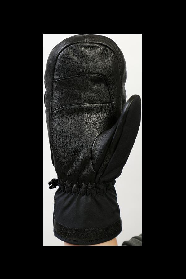 Ovis GTX Mitten, Fausthandschuh, edel Handschuh, hohe Qualität, mit Gore-Tex Membran, schwarz