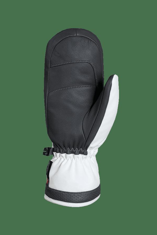 Winter- und Ski-Handschuh, Fäustlinge, Glove, Lavalan, weiss, graphit
