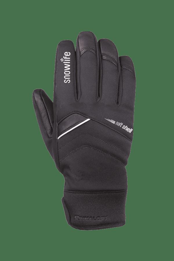 Winter- und Ski-Handschuh, Glove, soft, schwarz