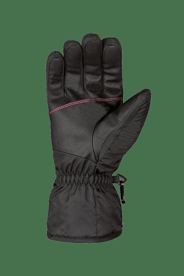 Winter- und Ski-Handschuh, Glove, robust, schwarz, pink