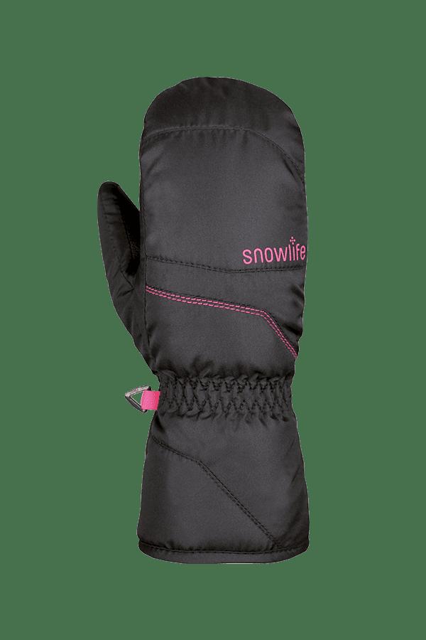 Winter- und Ski-Handschuh, Fäustlinge, Glove, schwarz, pink