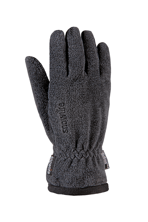Winter- und City-Handschuh aus Fleece, Glove, marengo/grau