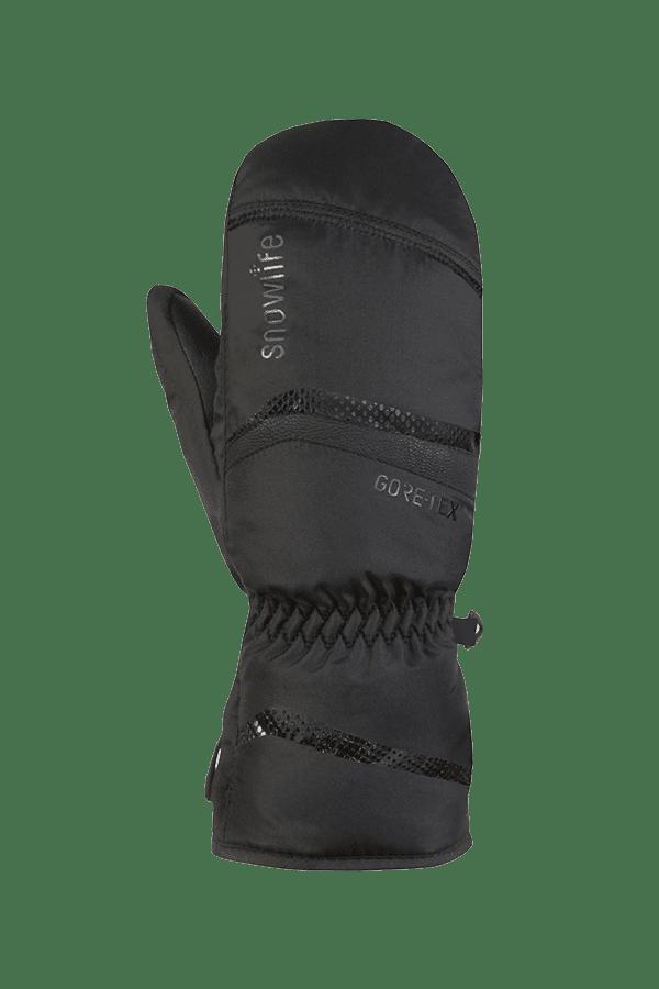 Winter- und Ski-Handschuh, Fäustlinge, Glove, Gore-Tex, schwarz