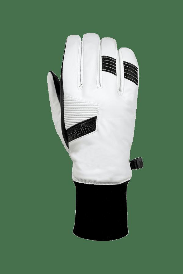 Winter- und Ski-Handschuh, Glove, Dry-Tec, weiss