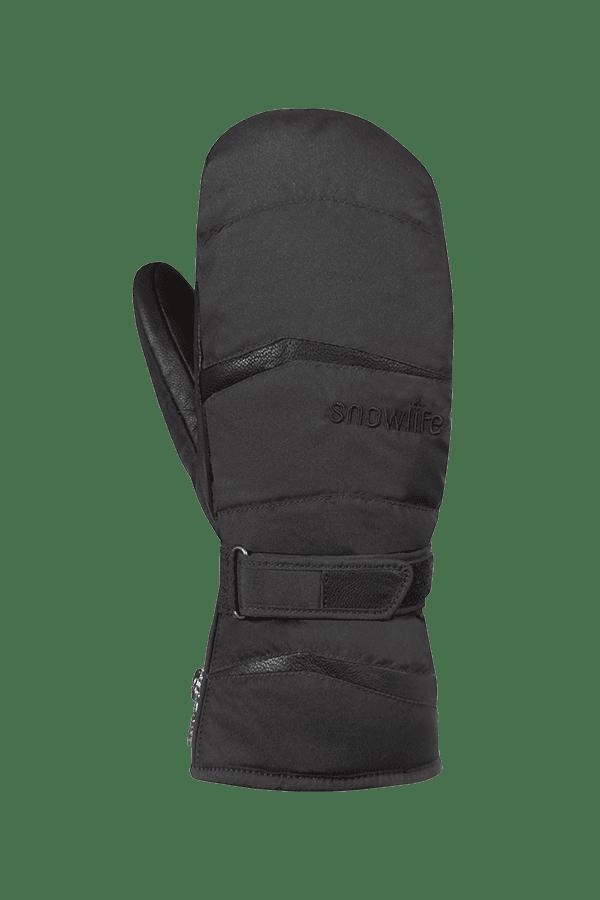 Winter- und Ski-Handschuh, Fäustlinge, Glove, Primaloft, Männer, schwarz