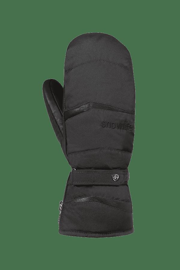 Winter- und Ski-Handschuh, Fäustlinge, Glove, Primaloft, Frauen, schwarz