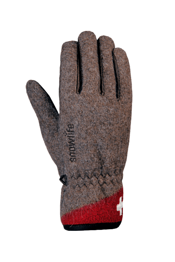Winter-Handschuhe, Glove, Swiss Army, braun