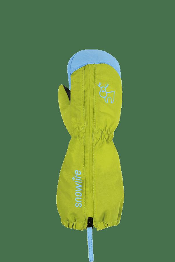 Baby Winter- und Ski-Handschuh, Fäustlinge, Glove, lime. türkis