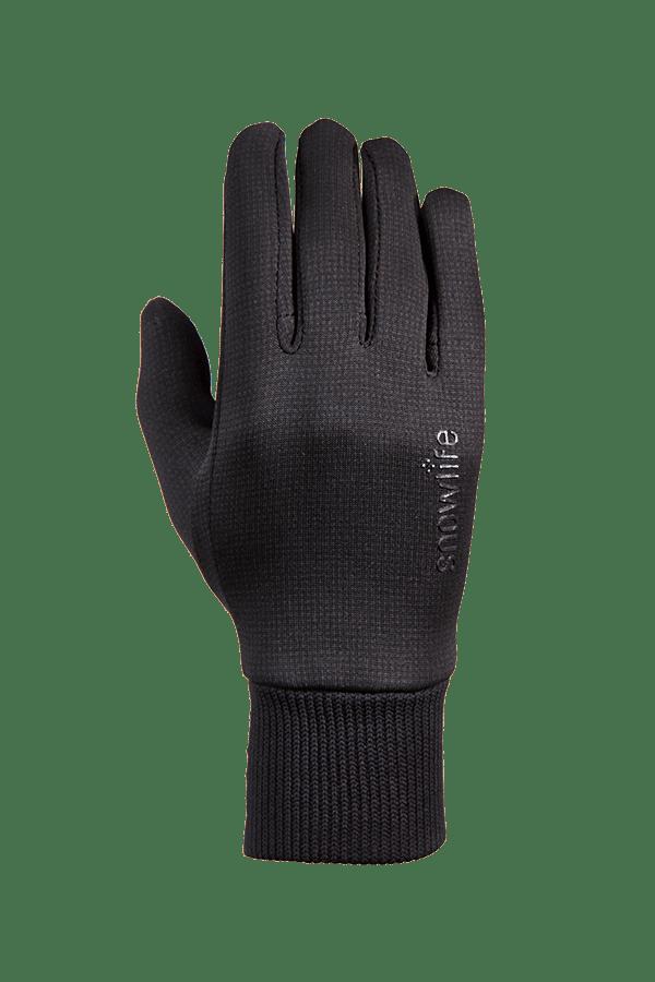 Mehrzweck-Handschuh aus Polartec Stretch Fleece, Glove, schwarz