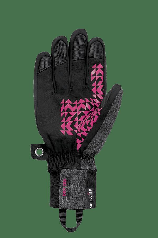 Winter- und Ski-Handschuh, Glove, grau, lotus