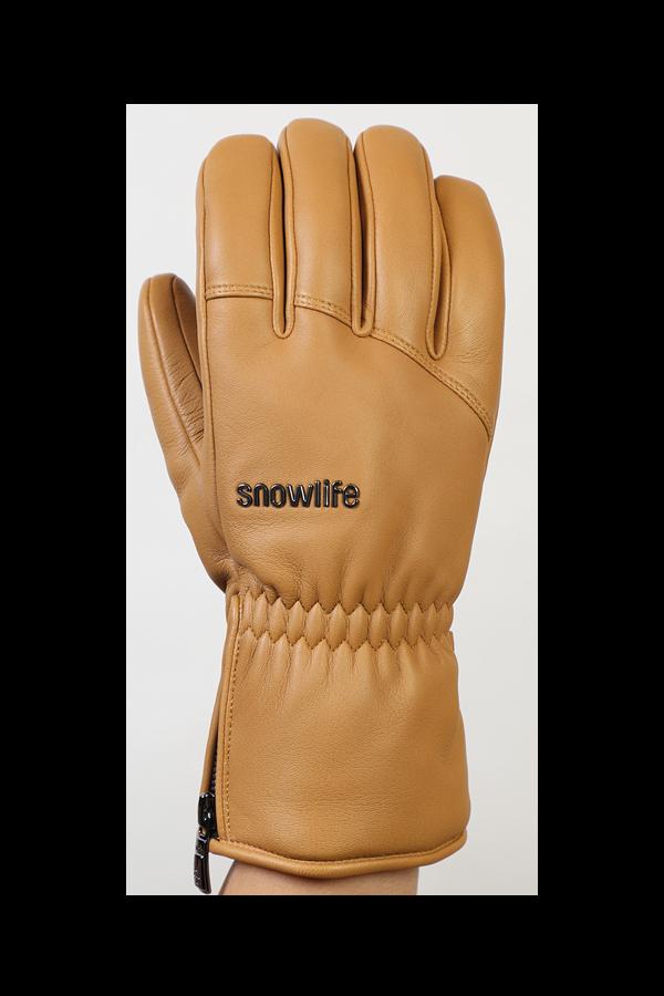 Grand Soft Glove, gants en cuir pour hommes, cuir véritable, chaud, camel
