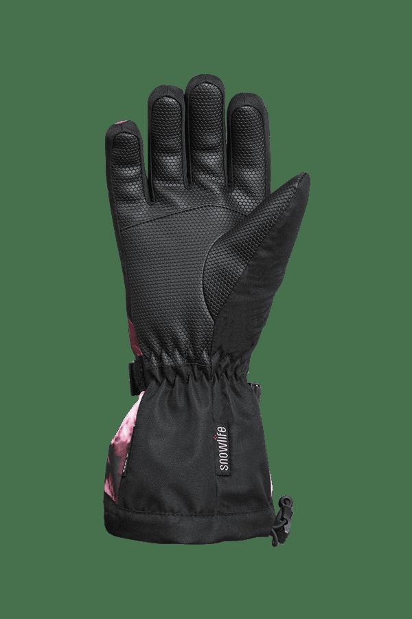 Winter- und Ski-Handschuh mit Dry-Tec, Glove, bordeaux crystal