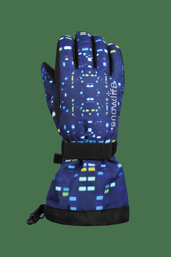 Winter- und Ski-Handschuh mit Dry-Tec, Glove, colored lights