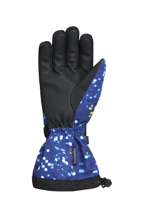 Winter- und Ski-Handschuh mit Dry-Tec, Glove, colored lights