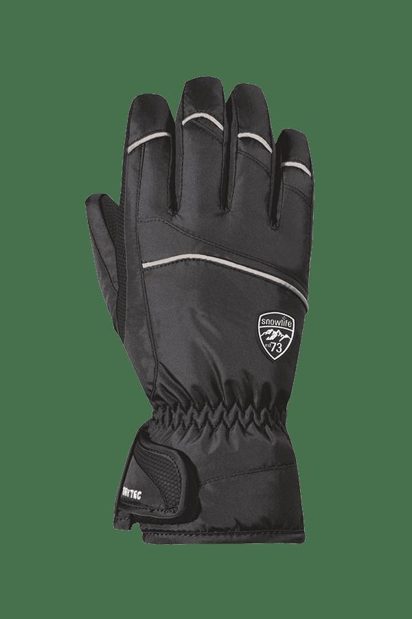 Winter- und Ski-Handschuh mit Dry-Tec, Glove, schwarz