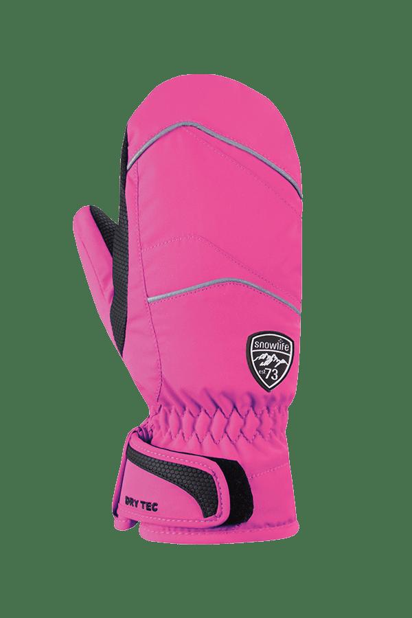 Winter- und Ski-Handschuh, Fäustlinge, mit Dry-Tec, Glove, pink
