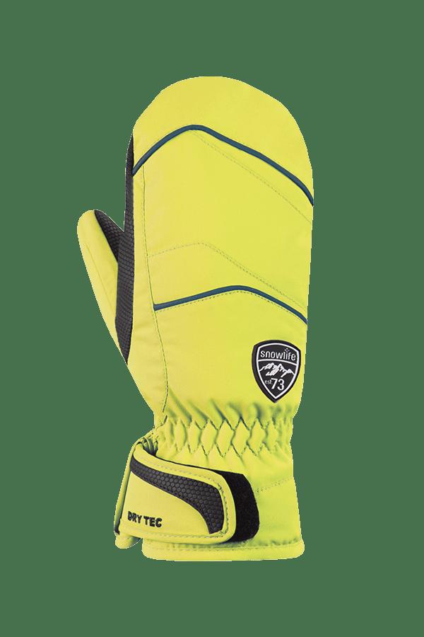 Winter- und Ski-Handschuh, Fäustlinge, mit Dry-Tec, Glove, lime