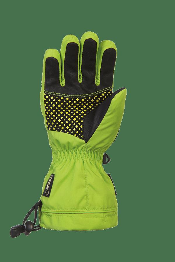 Winter- und Ski-Handschuh mit Gore-Tex Membrane, Glove, lime