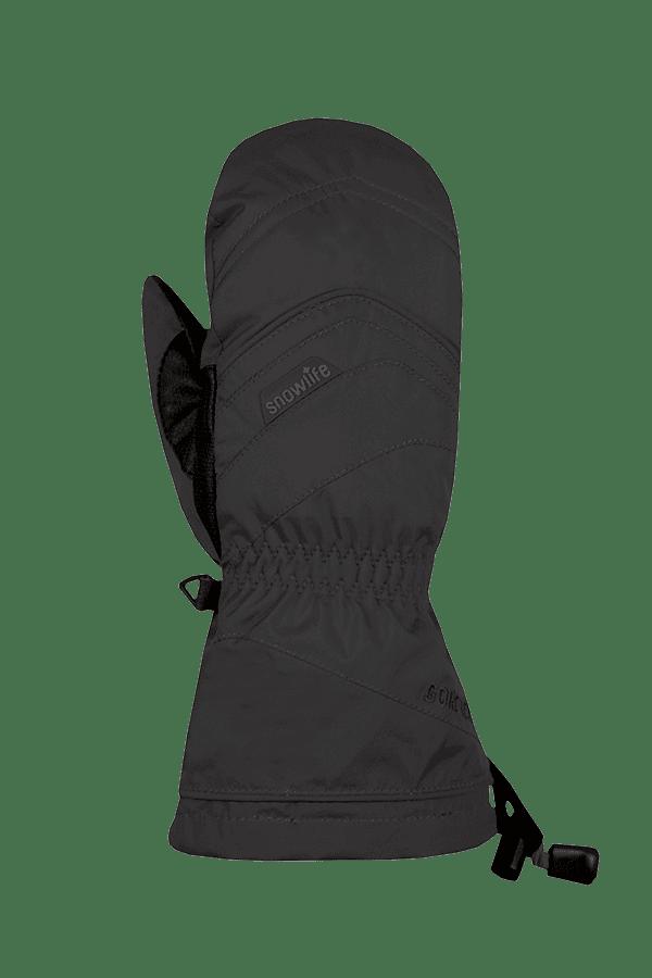 Winter- und Ski-Handschuh mit Gore-Tex Membrane, Fäustlinge, Glove, schwarz