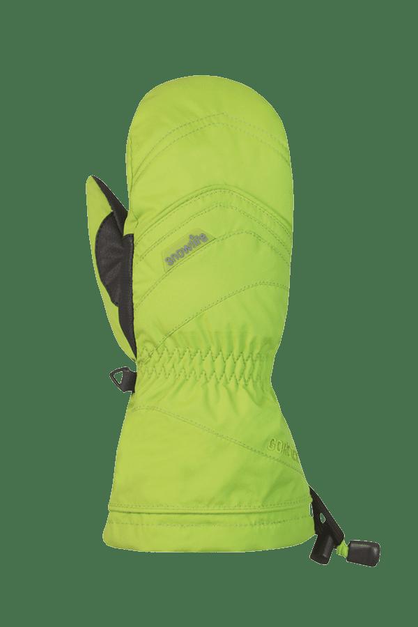 Winter- und Ski-Handschuh mit Gore-Tex Membrane, Fäustlinge, Glove, lime