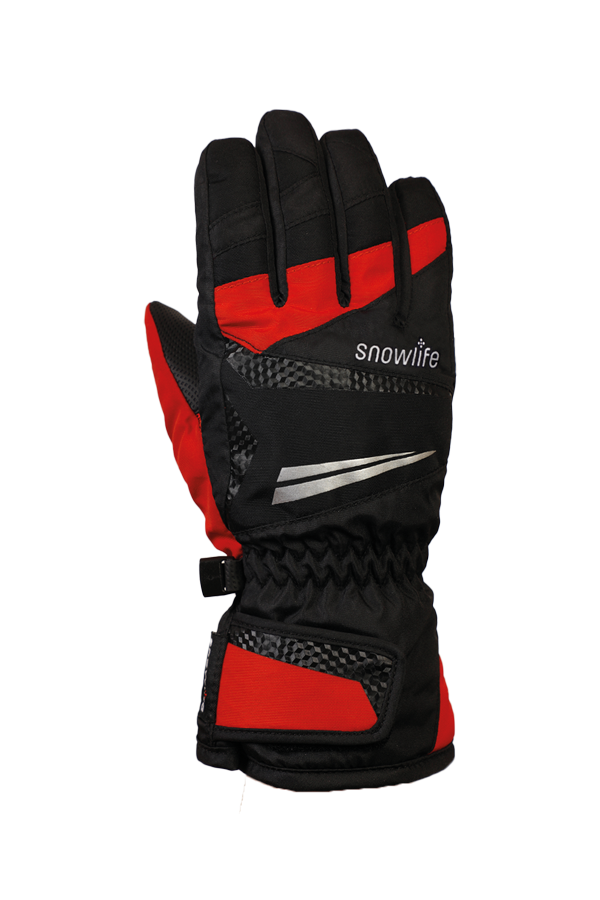 Junior Race DT Glove, gloves for kid, racing, children, black, red