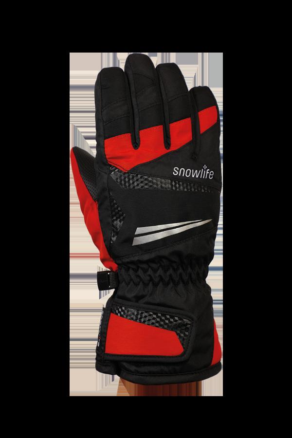 Junior Race DT Glove, gloves for kid, racing, children, black, red