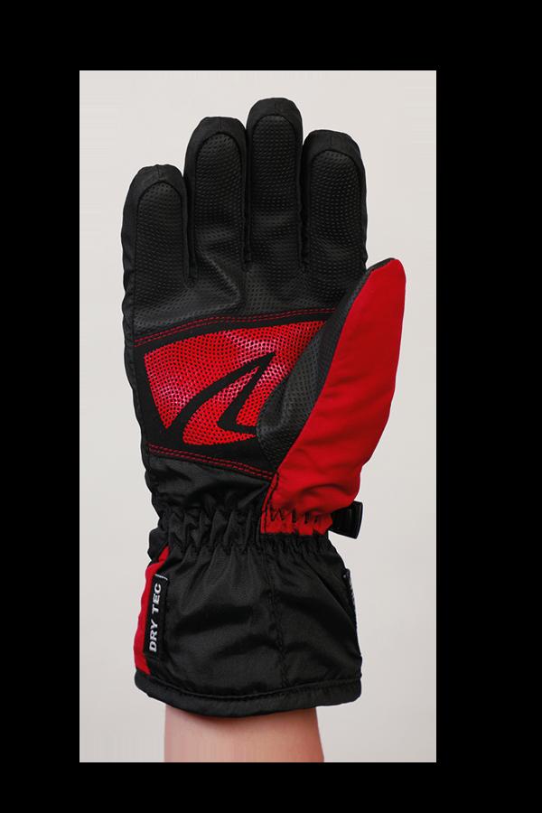 Junior Racer DT Glove, Kinderhandschuh, sportlich, warm, rot, schwarz