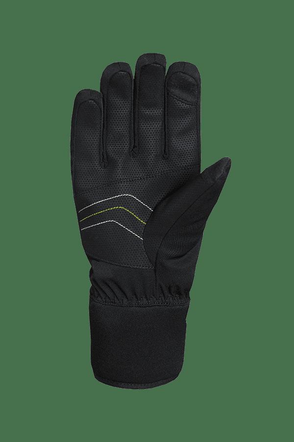 Winter- und Ski-Handschuh mit Dry-Tec Membrane, Glove, schwarz, lime, weiss