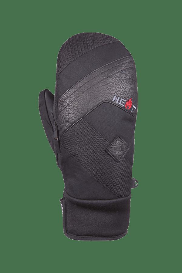 Winter- und Ski-Handschuh, Fäustlinge, Glove, beheizbar, schwarz