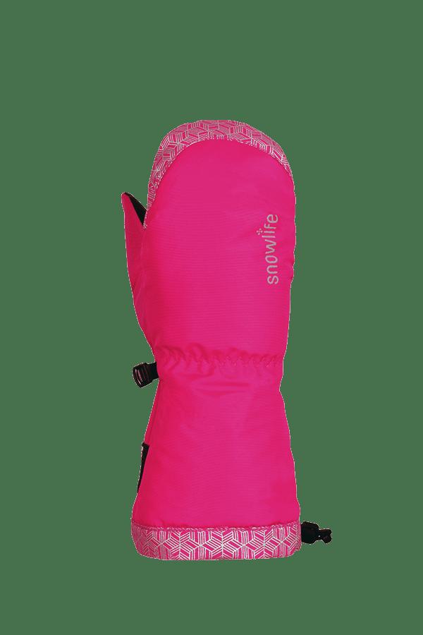 Kinder Winter- und Ski-Handschuh mit Dry-Tec Membrane, Fäustlinge, Glove, pink