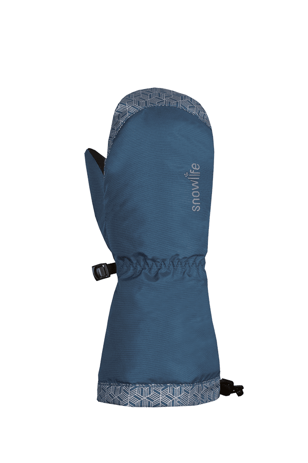 Kinder Winter- und Ski-Handschuh mit Dry-Tec Membrane, Fäustlinge, Glove, indigo