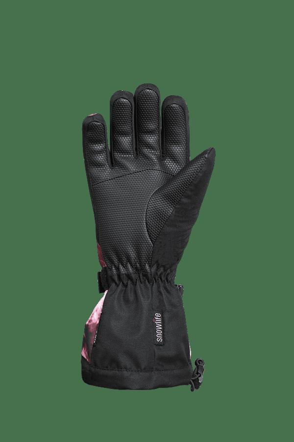 Kinder Winter- und Ski-Handschuh mit Dry-Tec Membrane, Glove, bordeaux crystal
